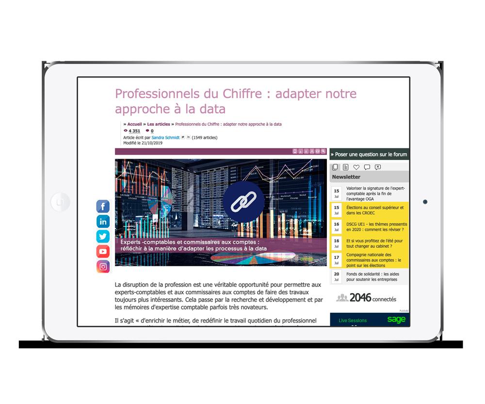 Professionnels du Chiffre : adapter notre approche à la data